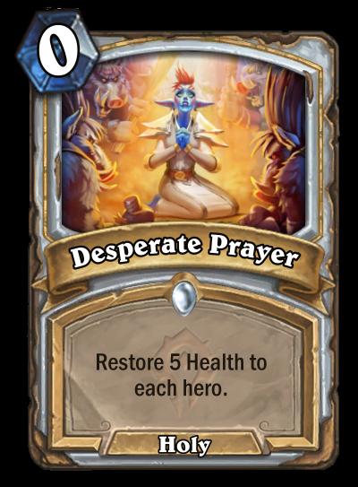 Desperate Prayer Card Image