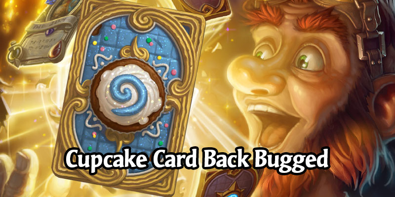 Hearthstone's Cupcake Card Back Returns, But Not For All