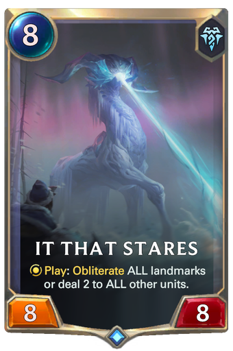 It That Stares Card Image