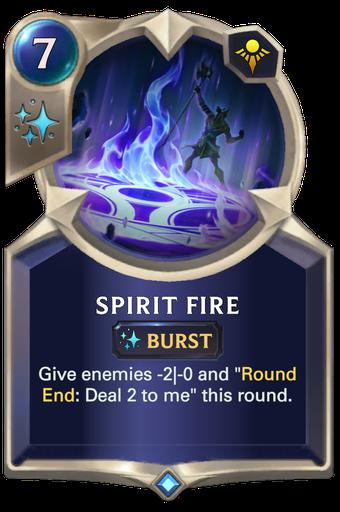 Spirit Fire Card Image