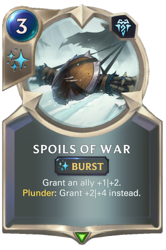 Spoils of War Card Image