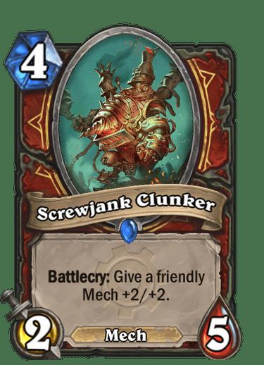 Screwjank Clunker Card Image