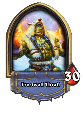Frostwolf Thrall Card Image