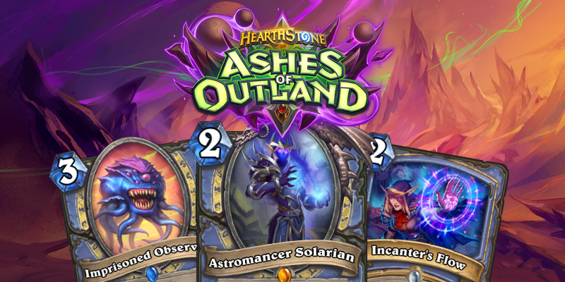 Our Thoughts on Hearthstone's Ashes of Outland Mage Cards