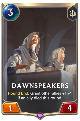 Dawnspeakers Card Image