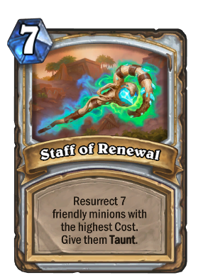 Staff of Renewal Card Image