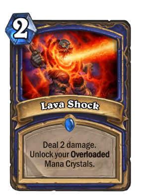 Lava Shock Card Image
