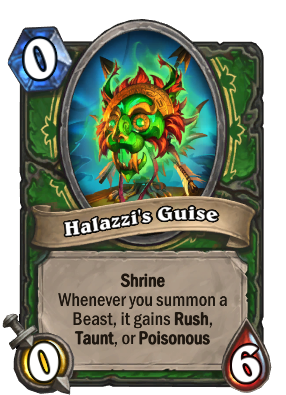 Halazzi's Guise Card Image