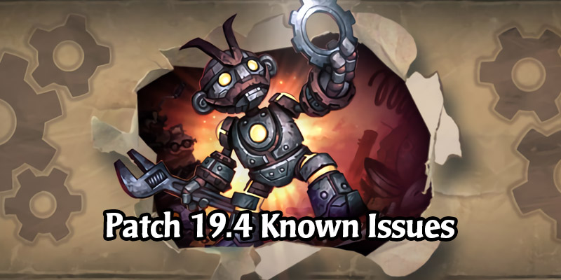 Hearthstone Patch 19.4 Known Issues - Incorrect Rarities Being Fixed Today