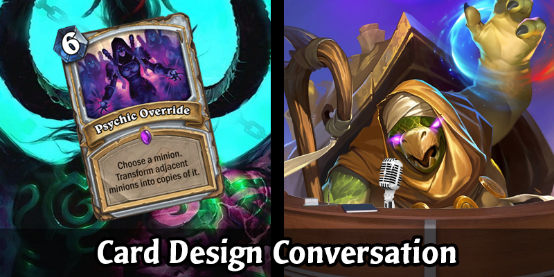 Card Design Conversation - Demons VS Priests