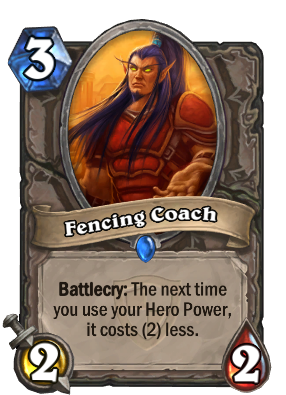 Fencing Coach Card Image