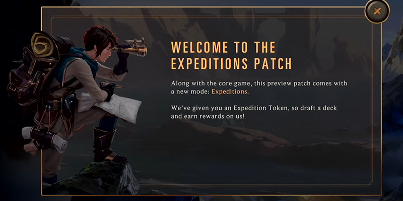 Legends of Runeterra - Expeditions Patch Notes