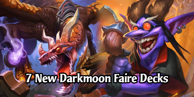 New Hearthstone Decks From the Darkmoon Races - Dragon Druid, Mozaki Mage, Prime Warlock, & More