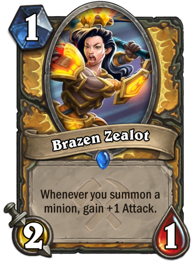 Brazen Zealot Card Image