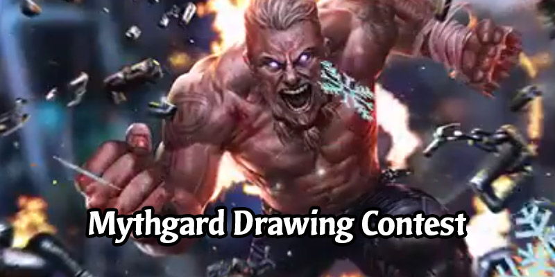 Get Out Your Drawing Pen For A Chance To Win a Mythgard Poster