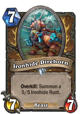 Ironhide Direhorn Card Image