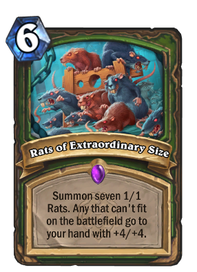 Rats of Extraordinary Size Card Image