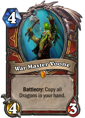 War Master Voone Card Image