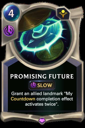 Promising Future Card Image