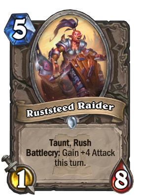 Ruststeed Raider Card Image