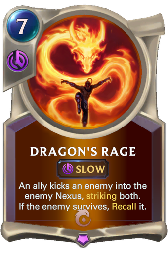 Dragon's Rage Card Image
