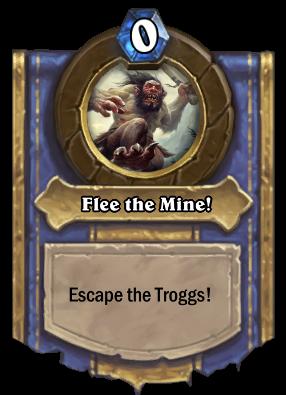 Flee the Mine! Card Image