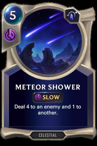 Meteor Shower Card Image