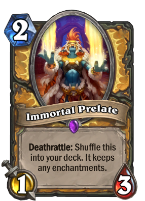 Immortal Prelate Card Image