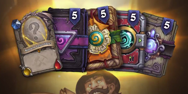 The Hearthstone Explorer's Bundle - 20 Standard Packs + 1 Uldum Legendary