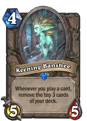 Keening Banshee Card Image