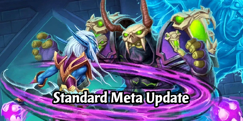 Hearthstone Standard Meta Update - Mage Drops in Winrate and Playrate, Paladins Cruising, Hunters Dominating, Warlocks ???