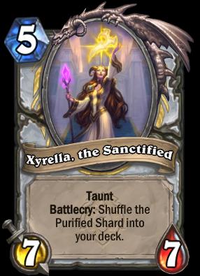 Xyrella, the Sanctified Card Image