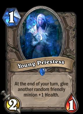 Young Priestess Card Image