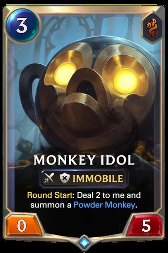 Monkey Idol Card Image