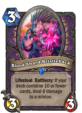 Blood Shard Bristleback Card Image