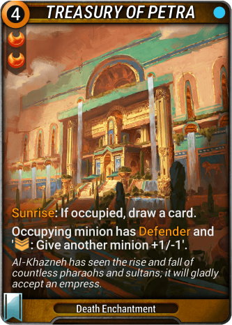 Treasury of Petra Card Image