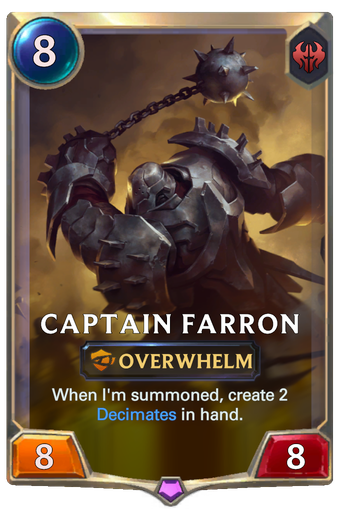 Captain Farron Card Image