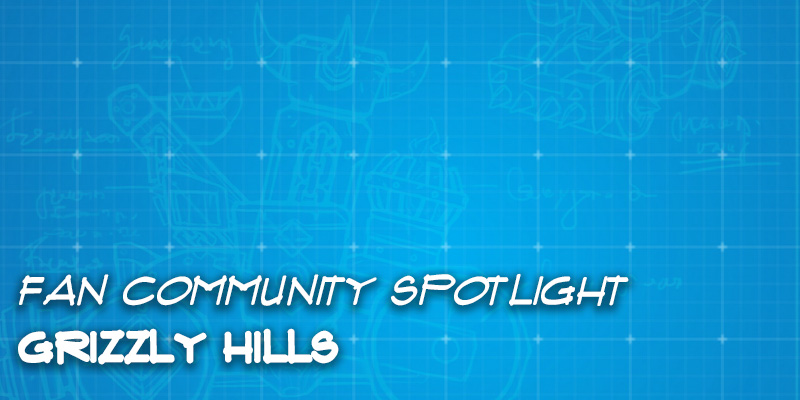 Fan Community Spotlight - Community Built Grizzly Hills Set