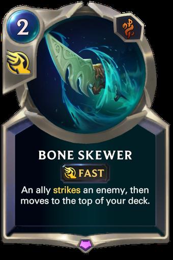 Bone Skewer Card Image