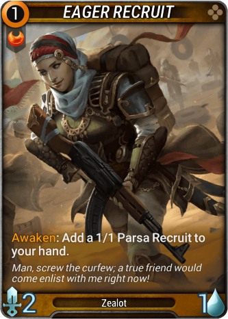 Eager Recruit Card Image