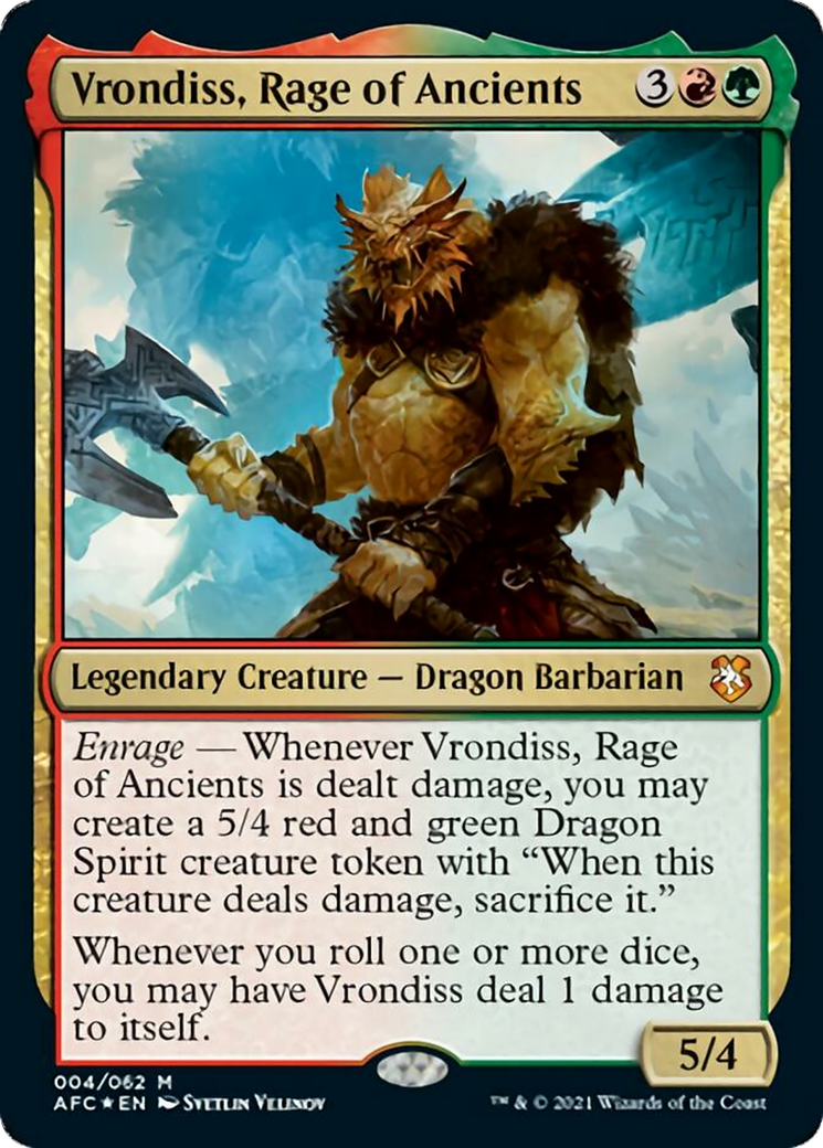 Vrondiss, Rage of Ancients Card Image