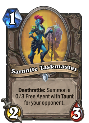Saronite Taskmaster Card Image