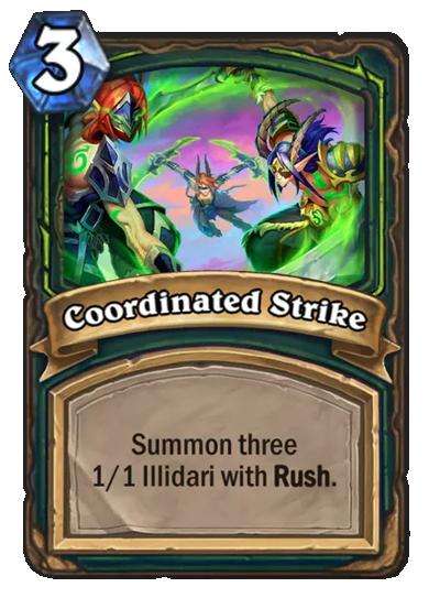 Coordinated Strike Card Image