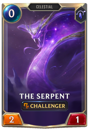 The Serpent Card Image