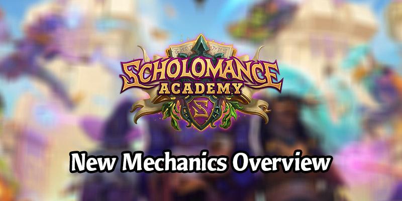 Scholomance Academy Mechanic Overview - Dual-Class Cards, Spellburst, Studies, & Soul Fragments