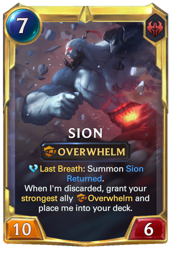 Sion Card Image