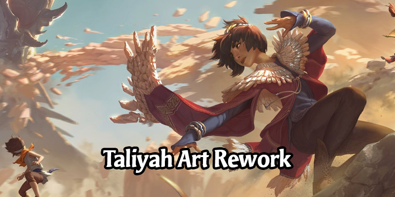 Taliyah's Artwork Changes Will Go Live in Runeterra's Patch 2.5.0