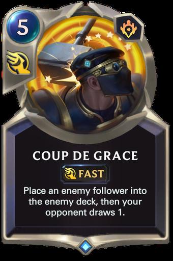 Coup de Grace Card Image