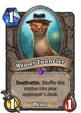 Weasel Tunneler Card Image