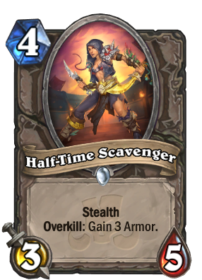 Half-Time Scavenger Card Image